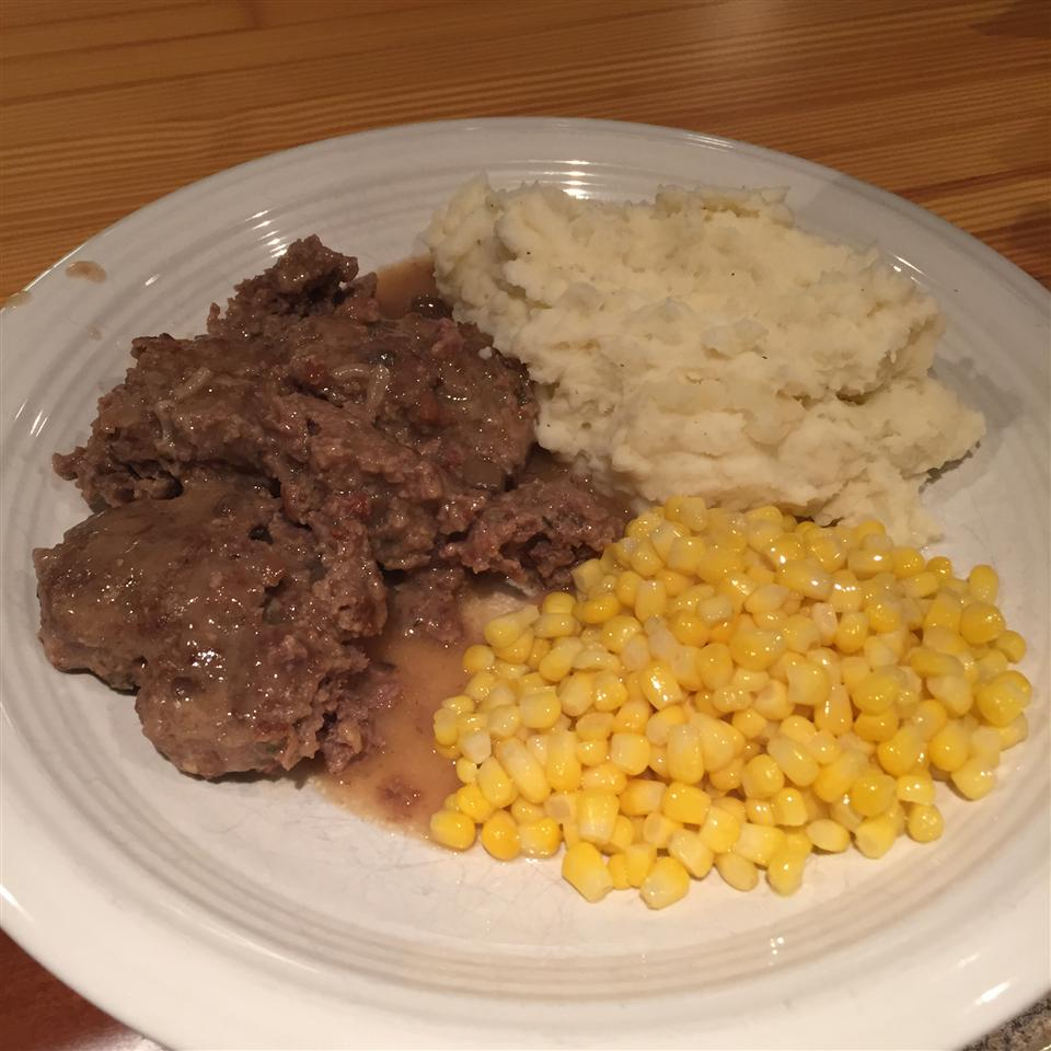 Simple and Flavorful Salisbury Steak
