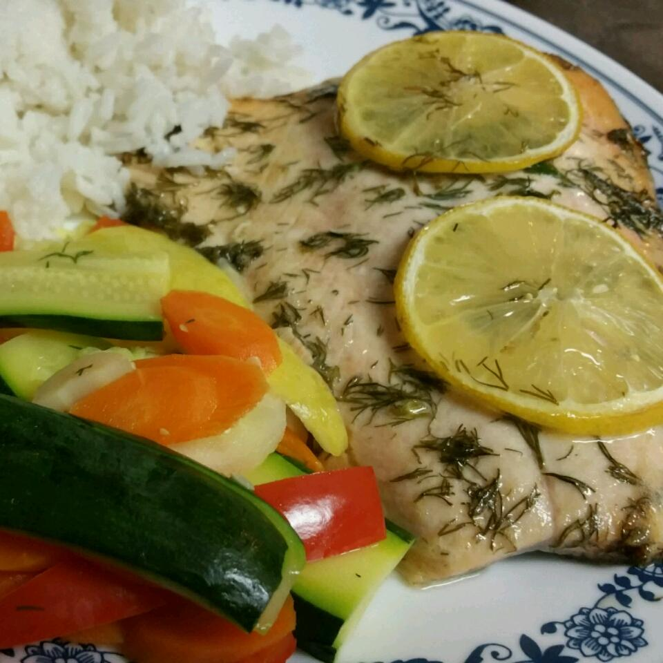 Salmon with Lemon and Dill Eric Browning