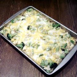 Silver's Savory Chicken and Broccoli Casserole Lauryl