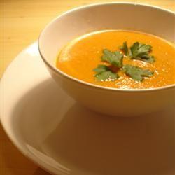 Carrot and Cilantro Soup Ágnes Dira