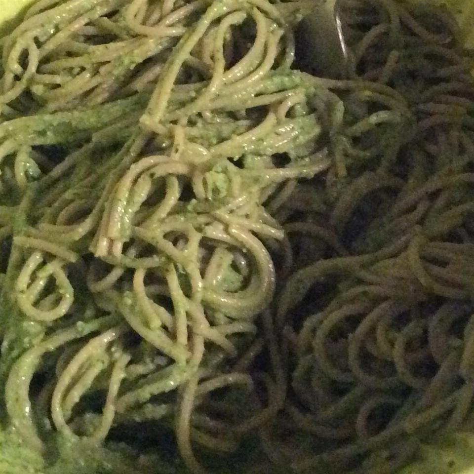 Light Lemon Pesto Pasta Corinna GV