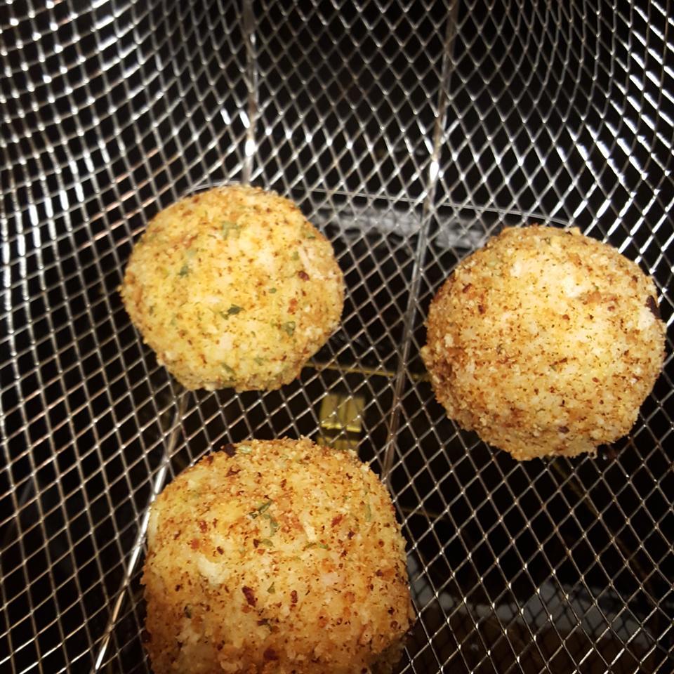 Italian Rice Balls Happy Baker