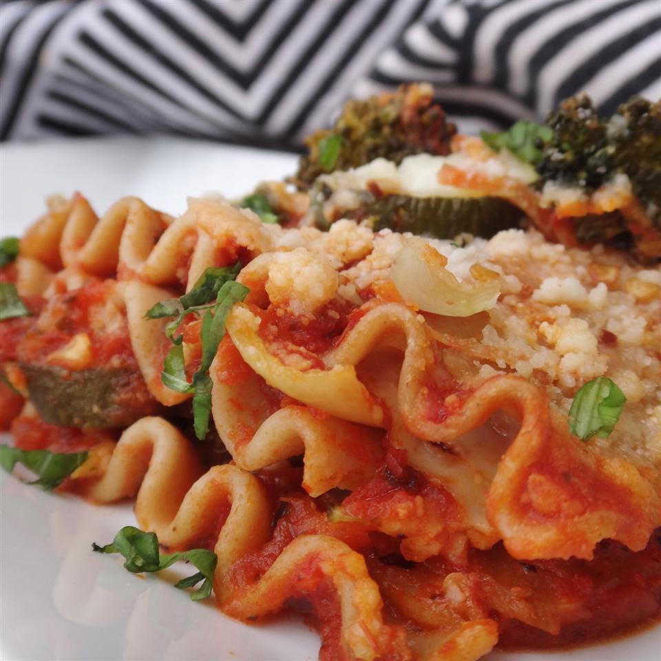 Easy Roasted Vegetable Lasagna