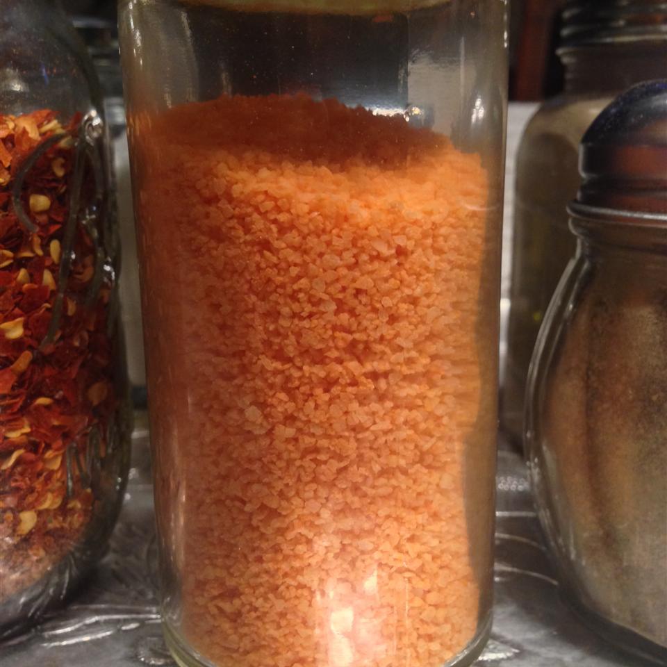 Jan's Homemade Sriracha Salt What's for dinner, mom?