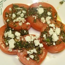 Sliced Tomatoes with Fresh Herb Dressing Foodie Family