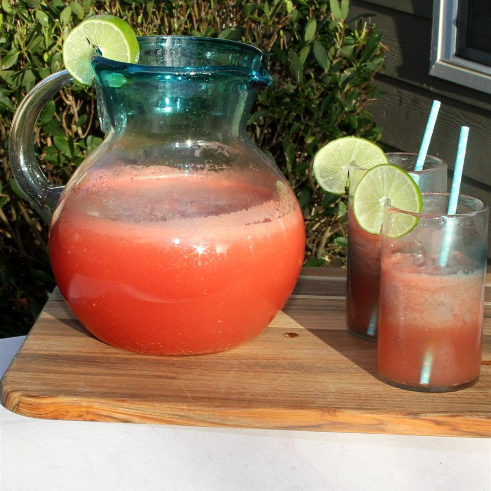 Watermelon Lime Agua Fresca