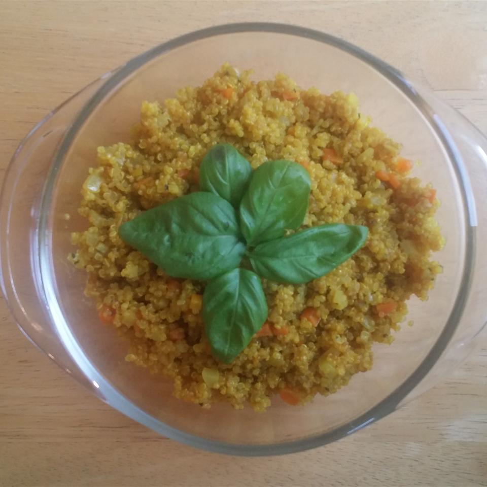 Simple Savory Quinoa kitchenklutz