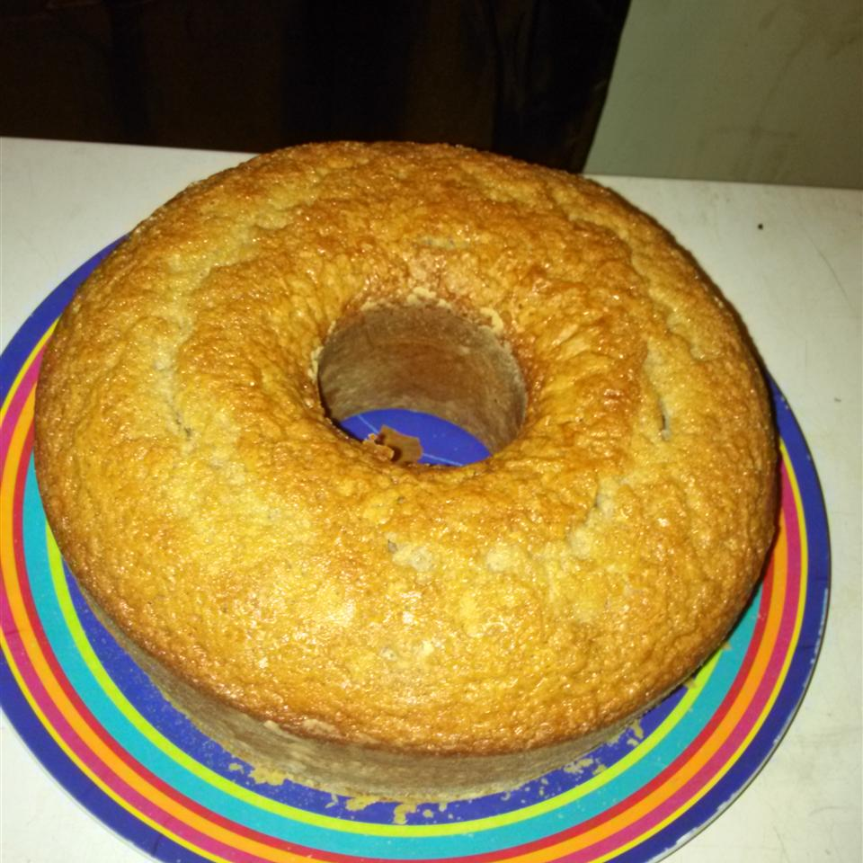 Spiced Yogurt Pound Cake