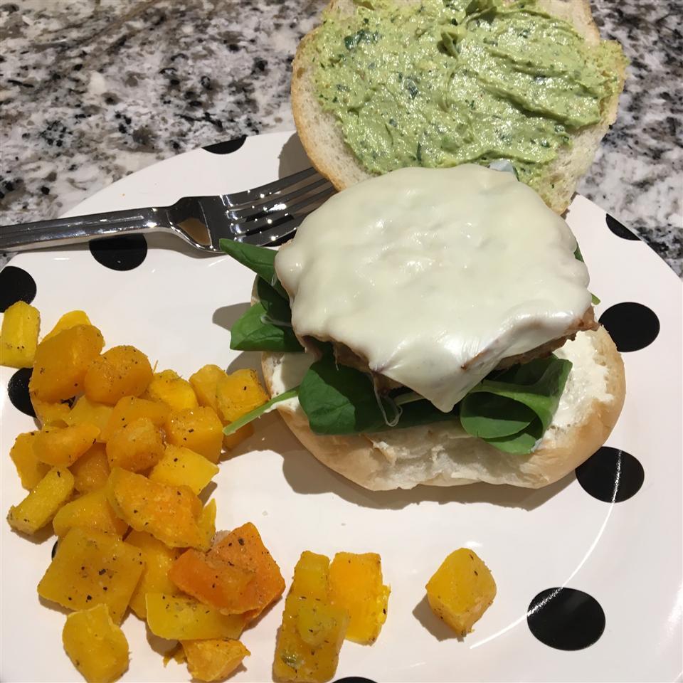 Green Chili Chicken Burgers