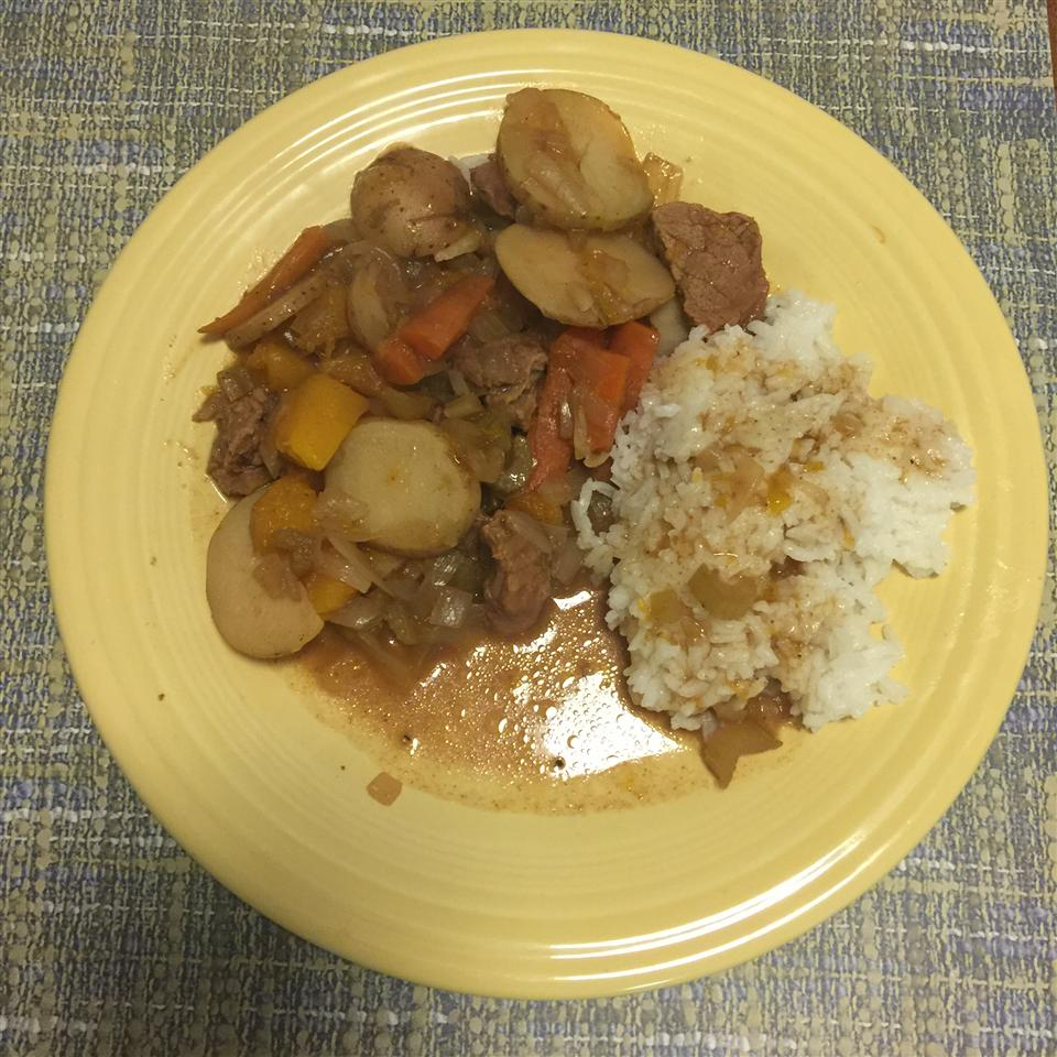 Healthier Slow Cooker Beef Stew I Fordude