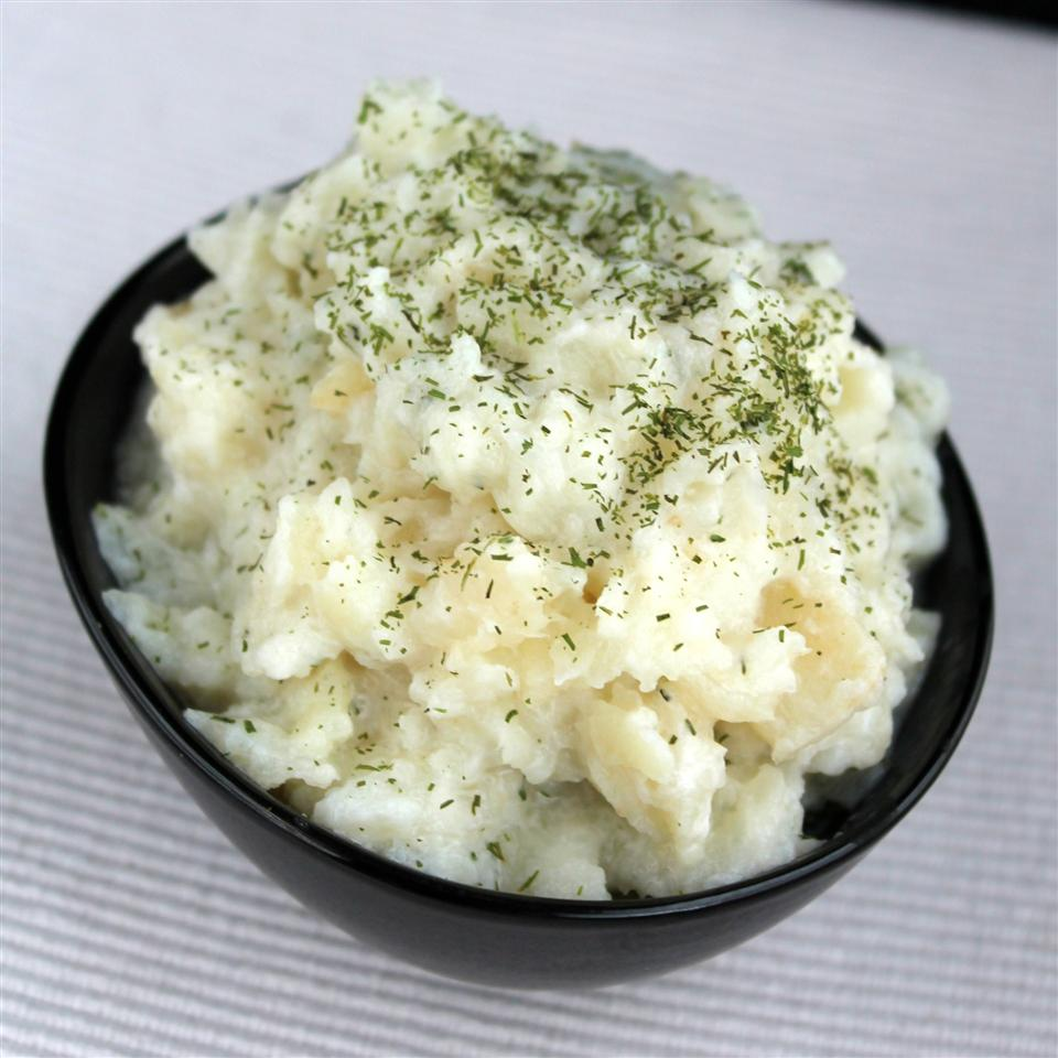 Creamy Celery Root Mash Buckwheat Queen