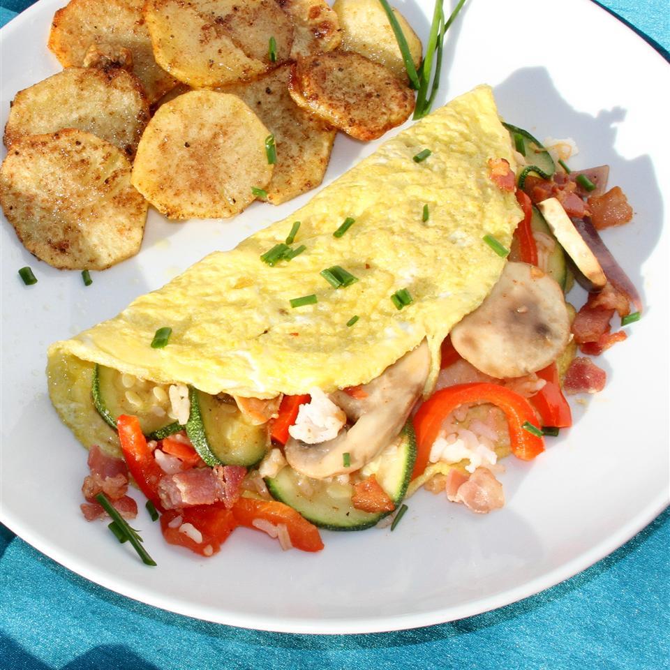 Omelet for Leftovers (Omurice) Jennifer Aleman