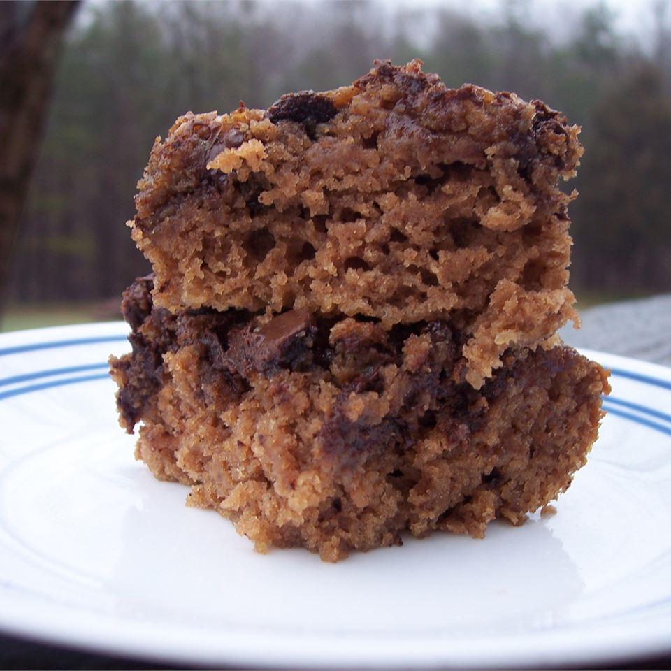 Applesauce Brownies I pomplemousse