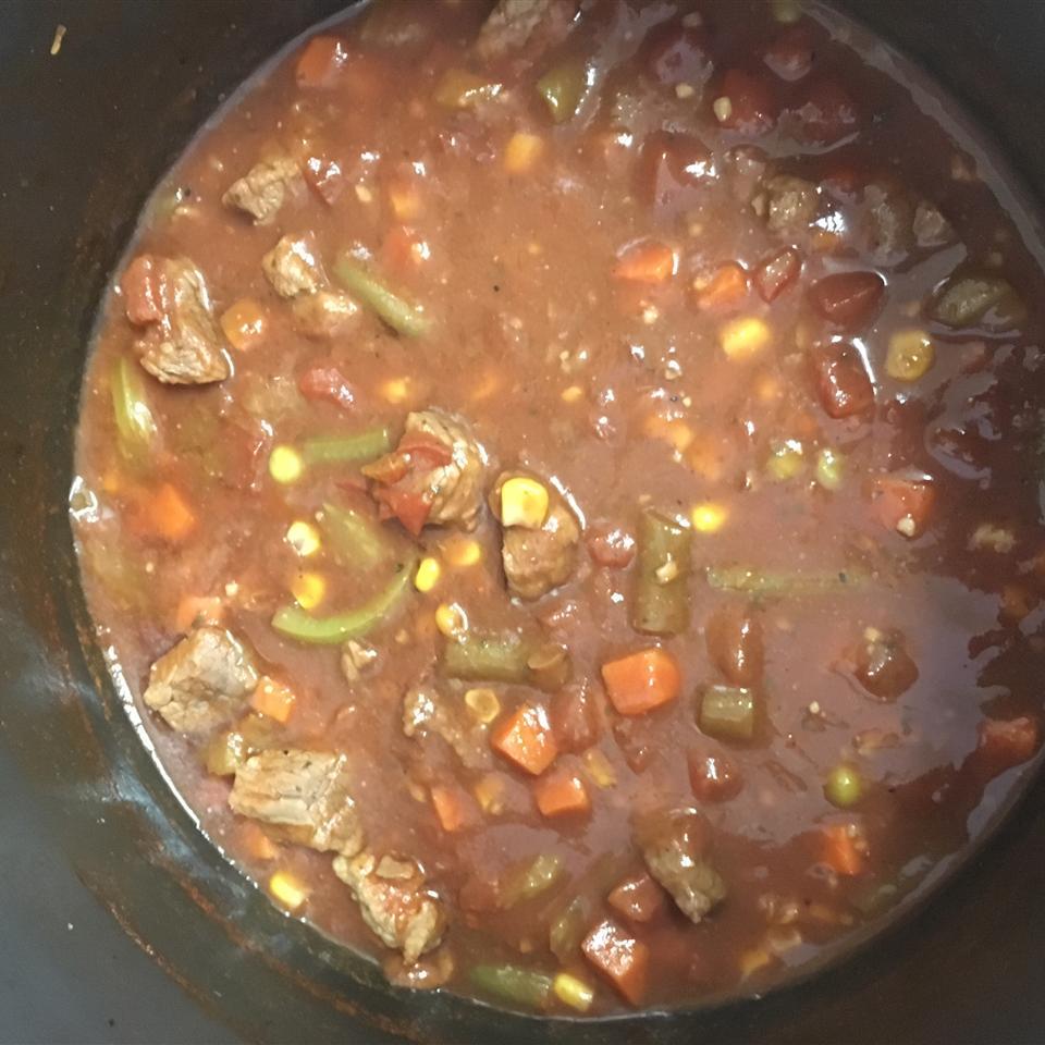 Martha's Vegetable Beef Soup lauren morton