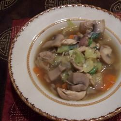 Asian Mushroom Soup COZY CUISINE