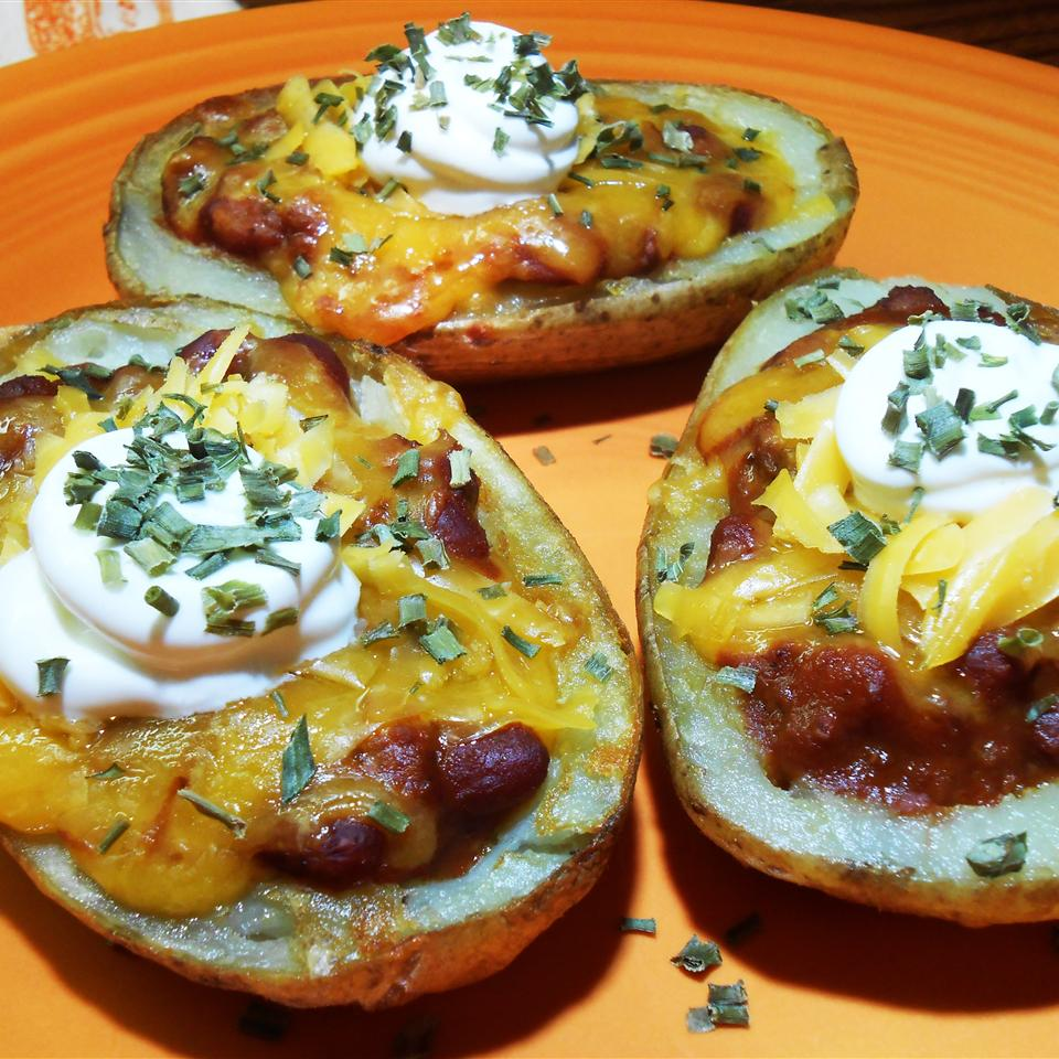Super Loaded Chili Potato Skins RainbowJewels