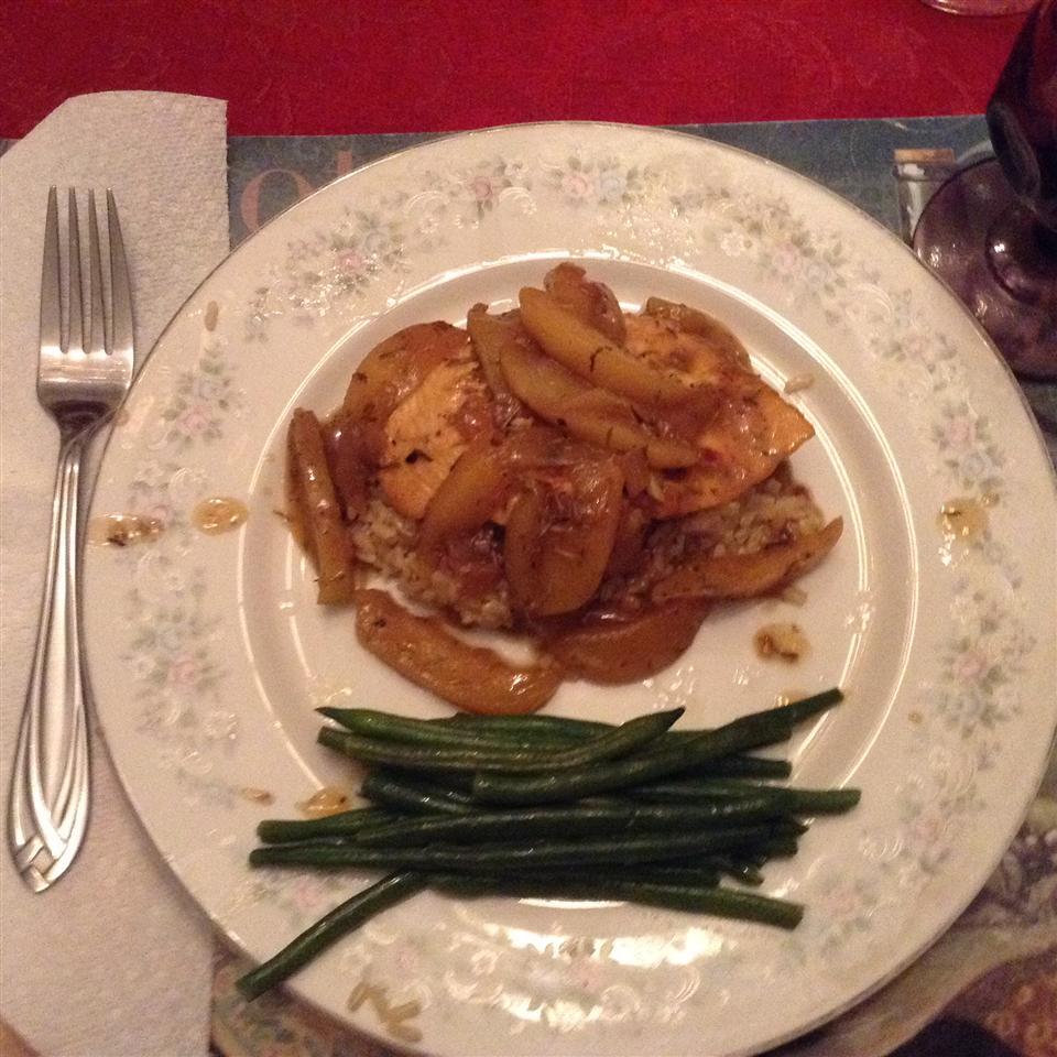 Apple Cider Chicken with Wild Rice Peggy Furey DeTurris
