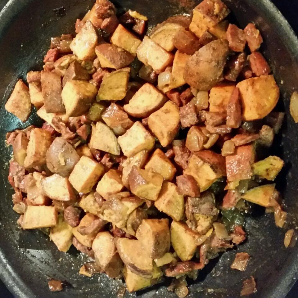 Savory Sweet Potato Hash