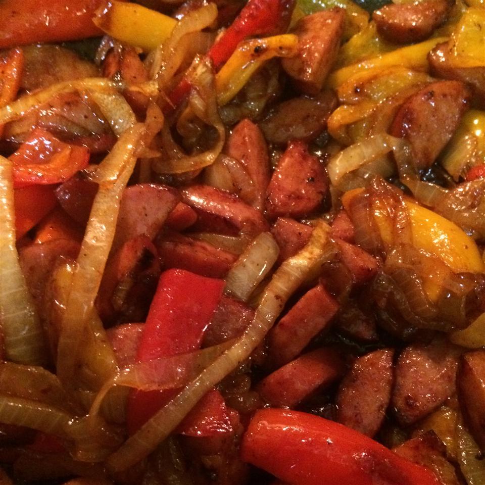 Sweet and Sour Smoked Sausage