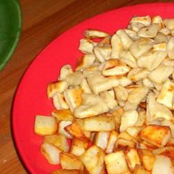Knoephla, Potatoes and Sauerkraut ONIOND