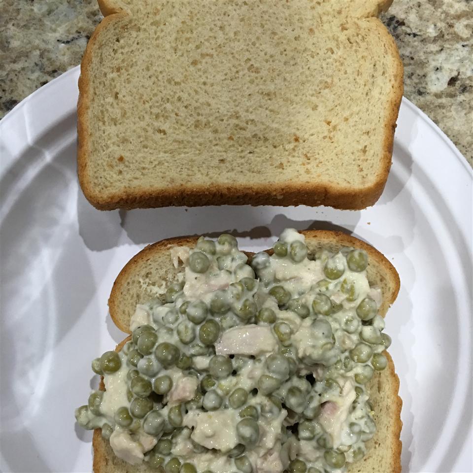 Tuna Fish Pea Salad Kristi Hicks-Hsueh