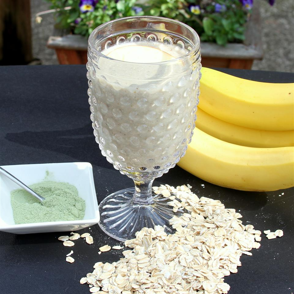 Raw Super Food Oat Smoothie