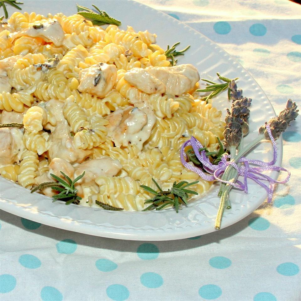 Lavender Chicken Pasta Jennifer Aleman