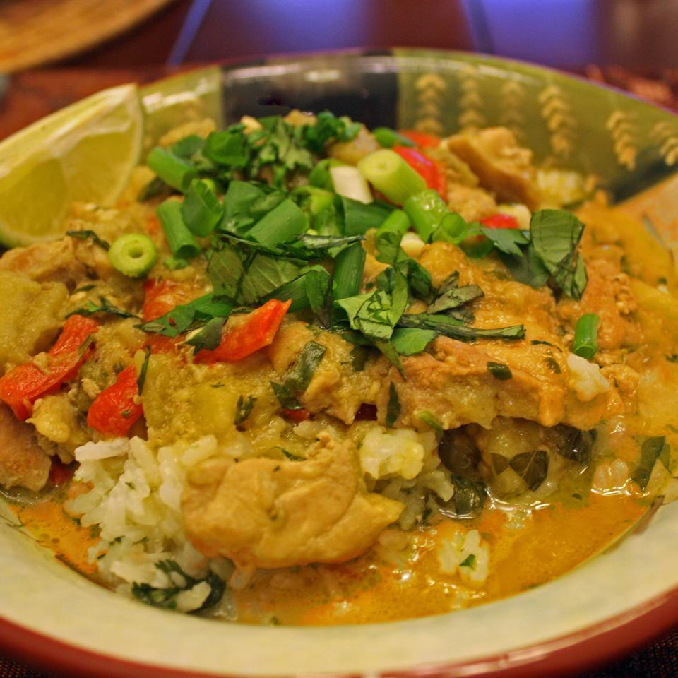 Chicken Panang Curry Janet Henderson