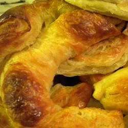 Traditional Layered French Croissants Anonymous