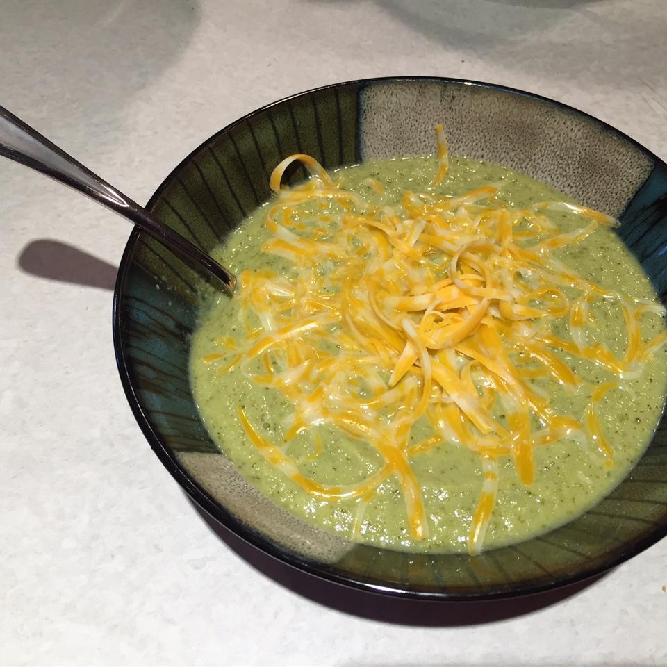 Low Carb Broccoli Soup Shannon Marie Burr