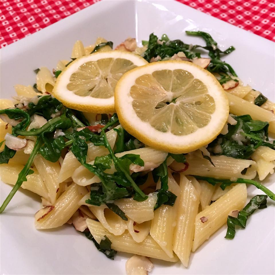 Gluten Free Fresh Lemon and Basil Penne Happyschmoopies
