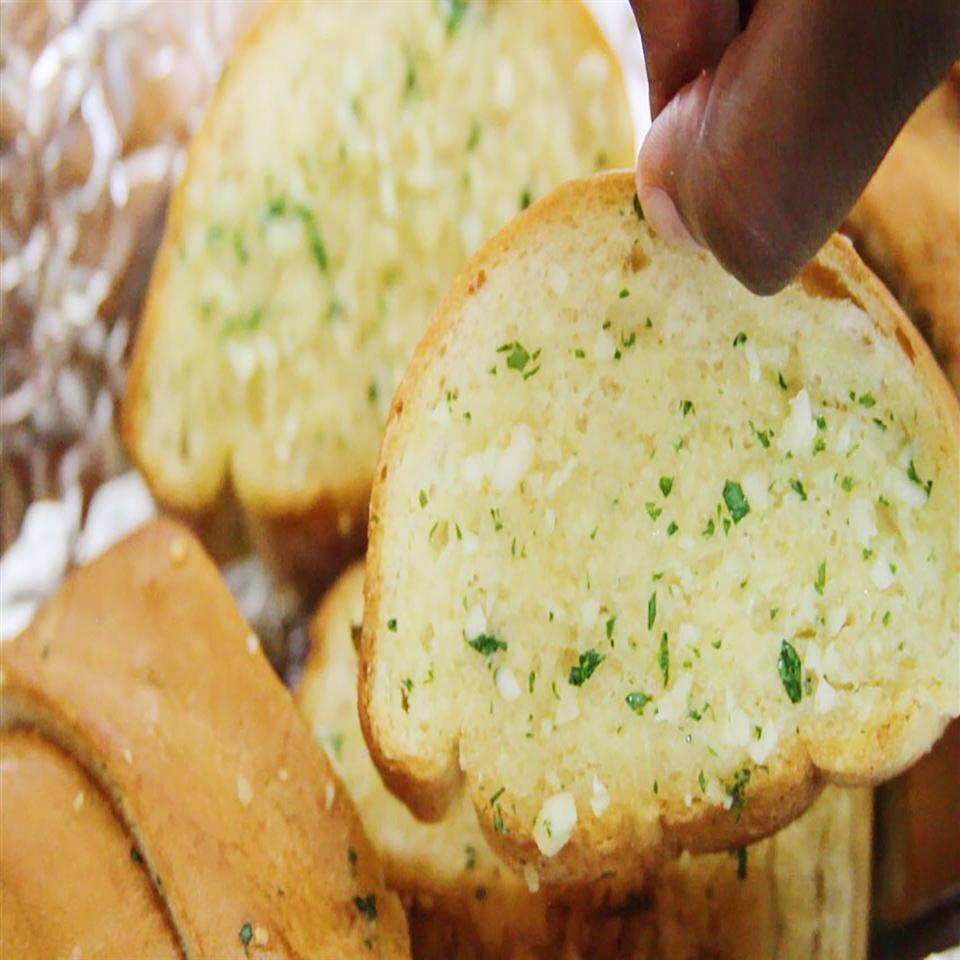 Homemade Garlic Bread Margaritas On The Rocks