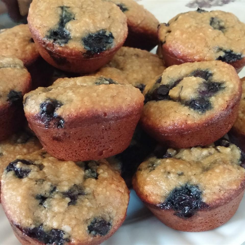 Banana Blueberry Almond Flour Muffins (Gluten-Free)