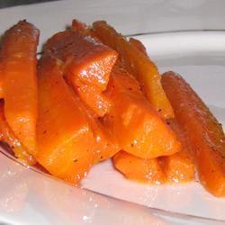 Honey Ginger Carrots