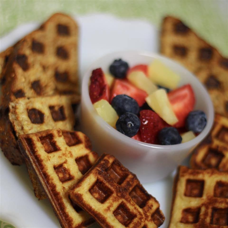 Easy French Toast Waffles Paula