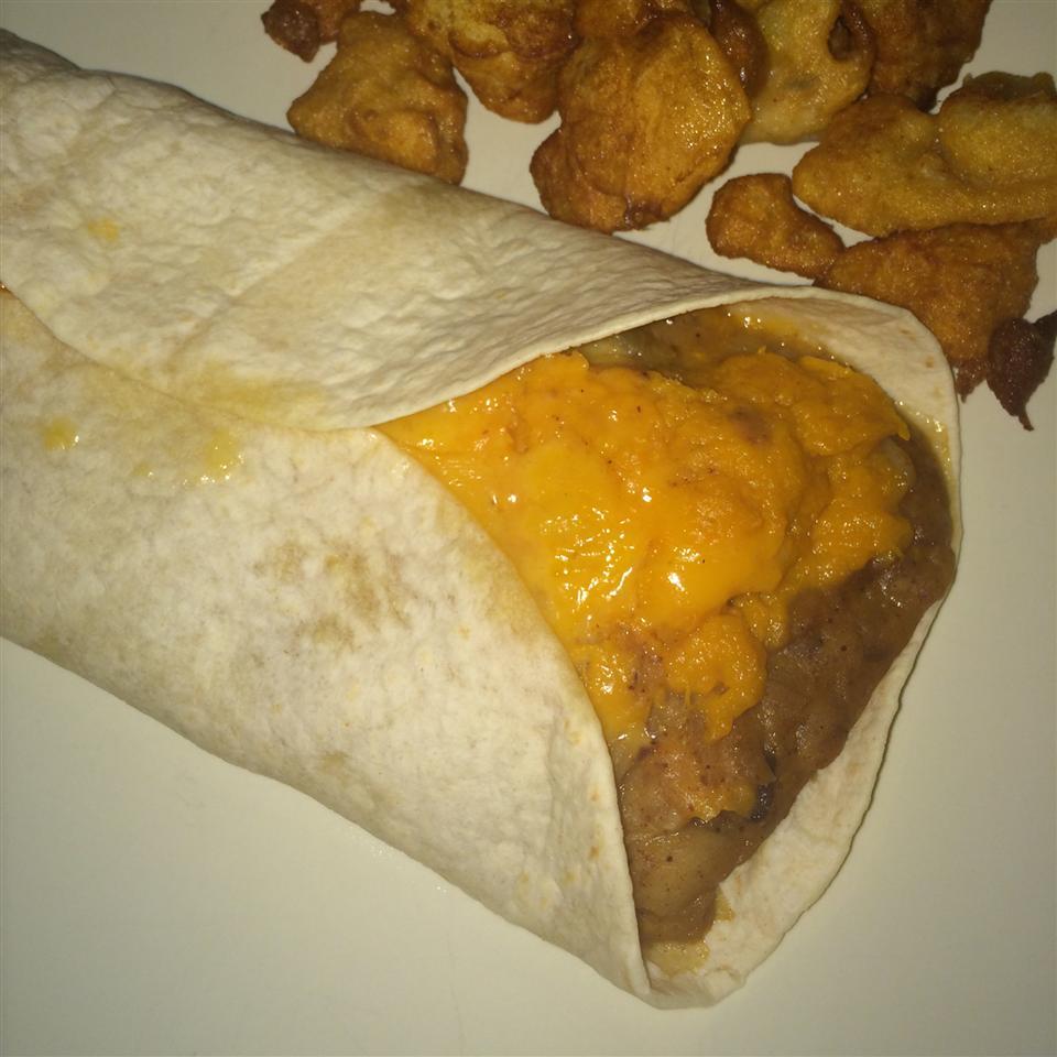 Addictive Sweet Potato Burritos