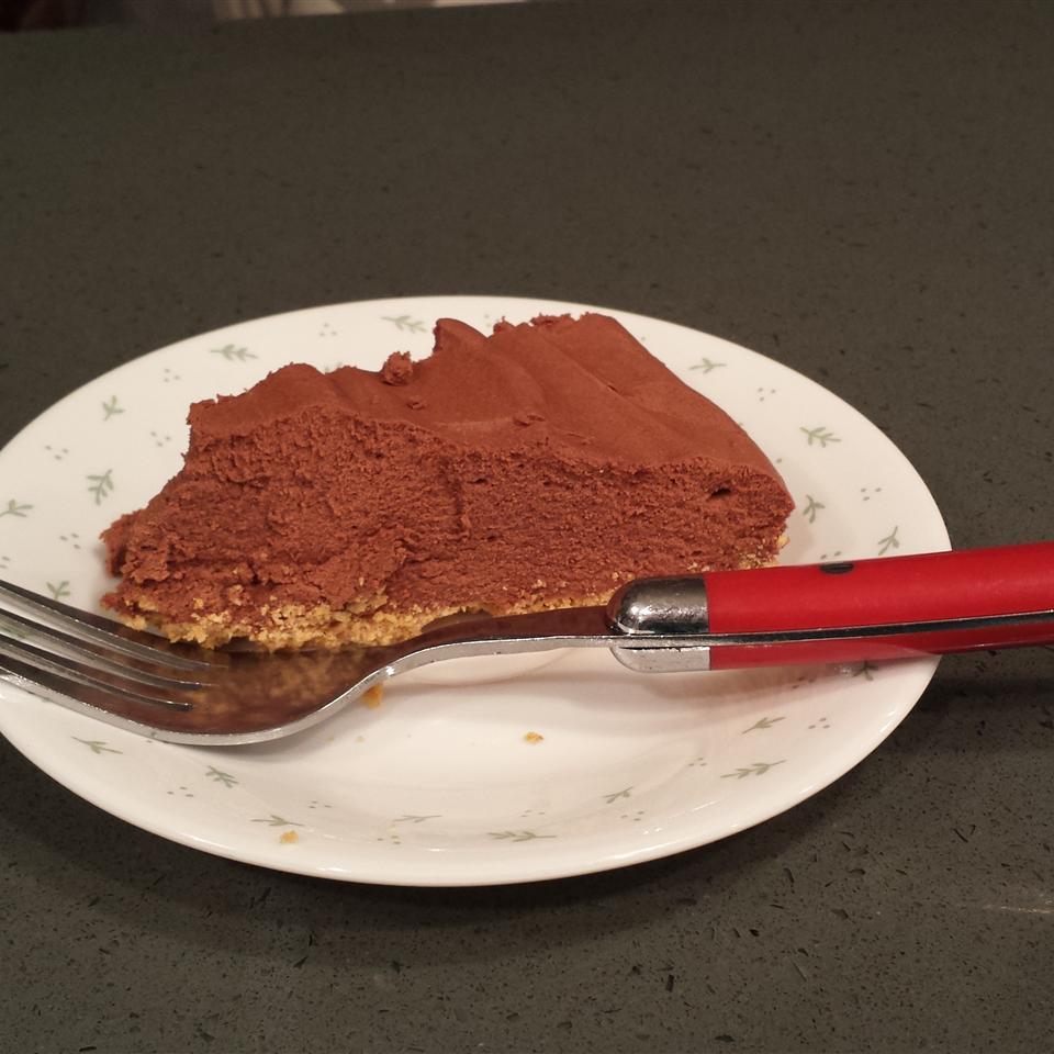 Rich Chocolate Truffle Pie
