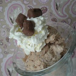 Chocolate Velvet Ice Cream TheBritishBaker