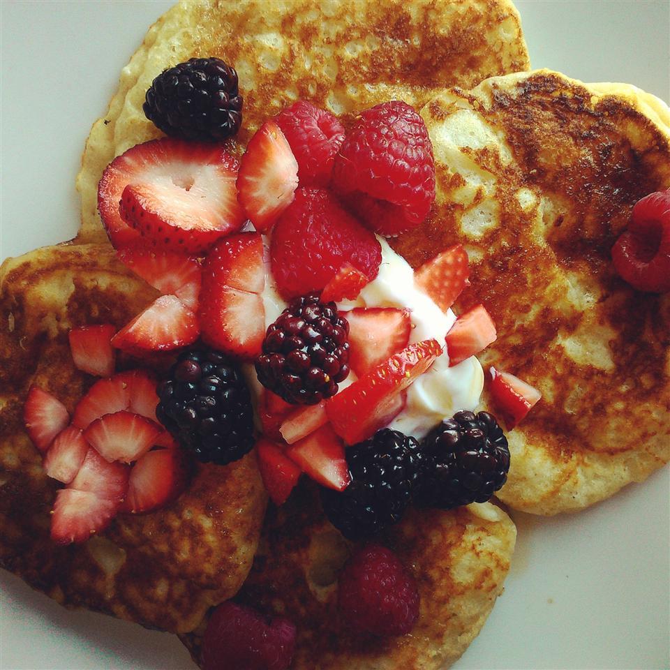 Greek Yogurt Pancakes Chef V