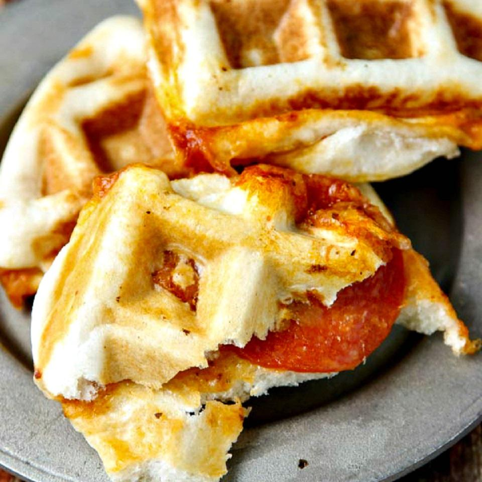 Waffle Pizzas TheWickedNoodle