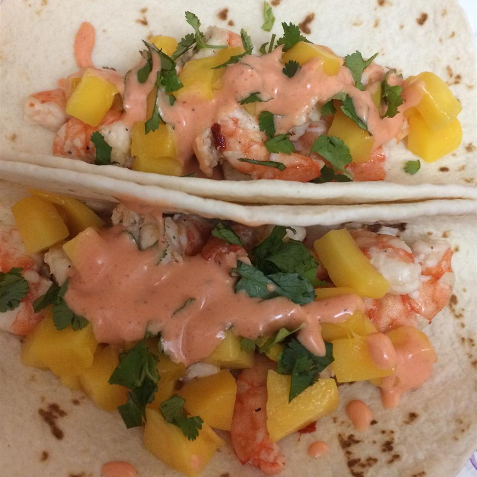 Spicy Shrimp Tacos RabidPorcupine