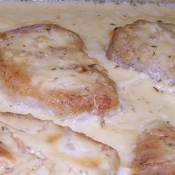 Margie's Sour Cream Pork Chops Mary