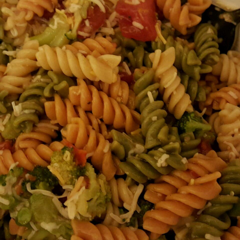 Rainbow Pasta Salad I Iris Harris