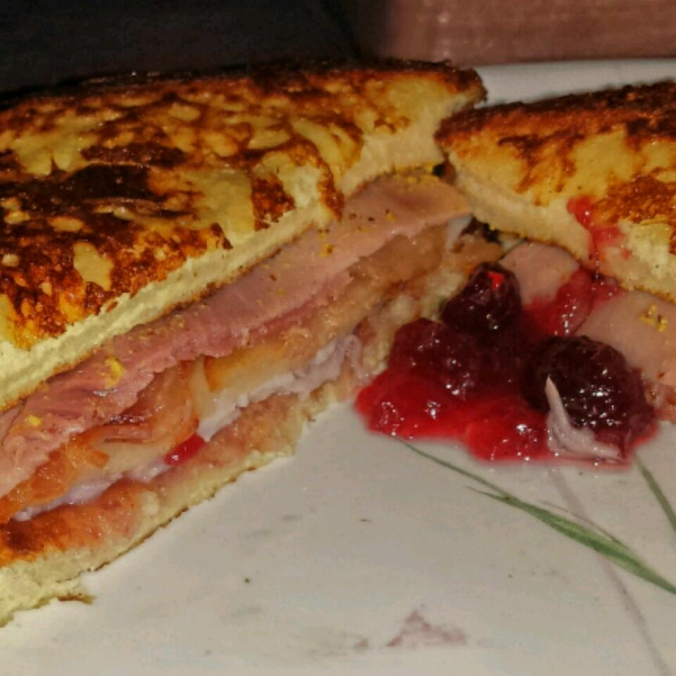 Monte Cristo Sandwich with Bacon stephanie whitmire