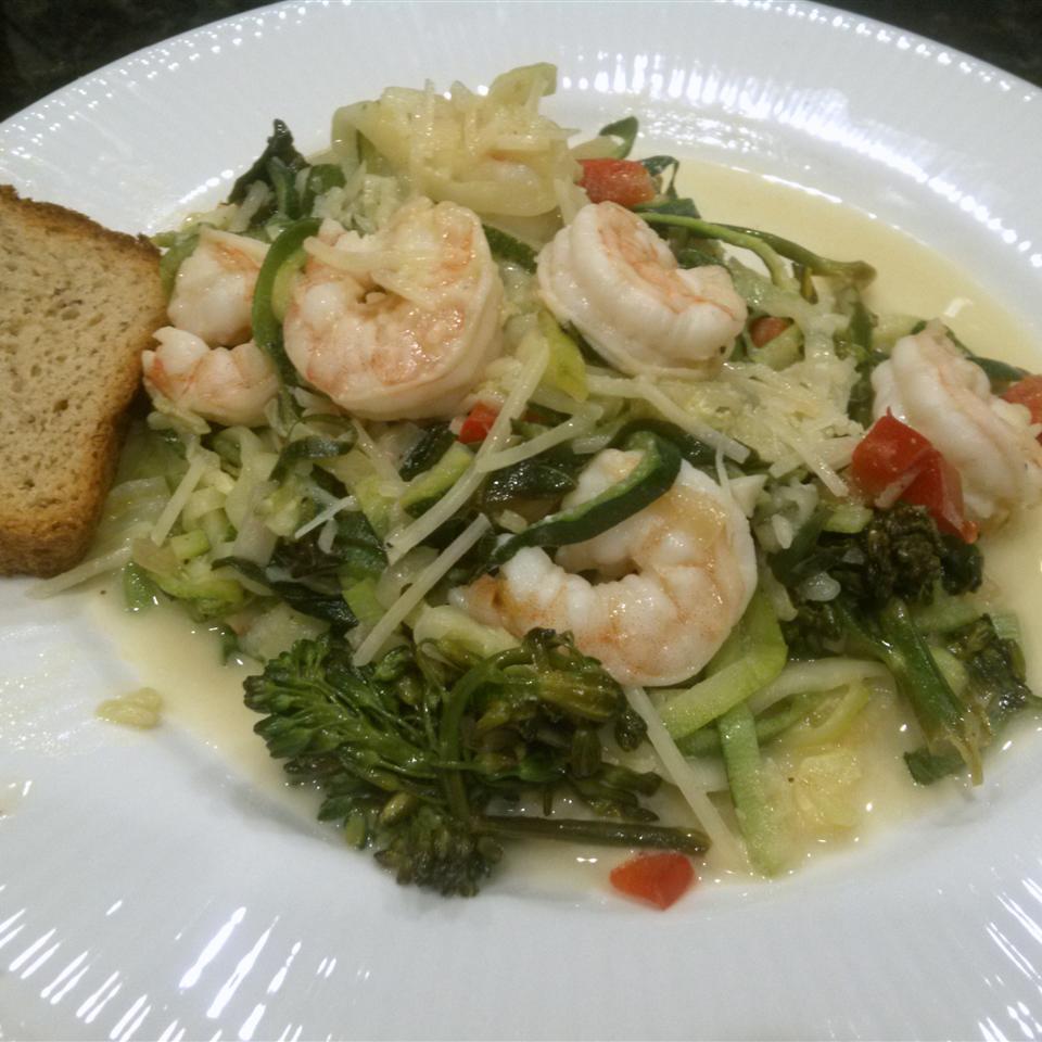 Zucchini Noodle Shrimp Scampi Qhhunters