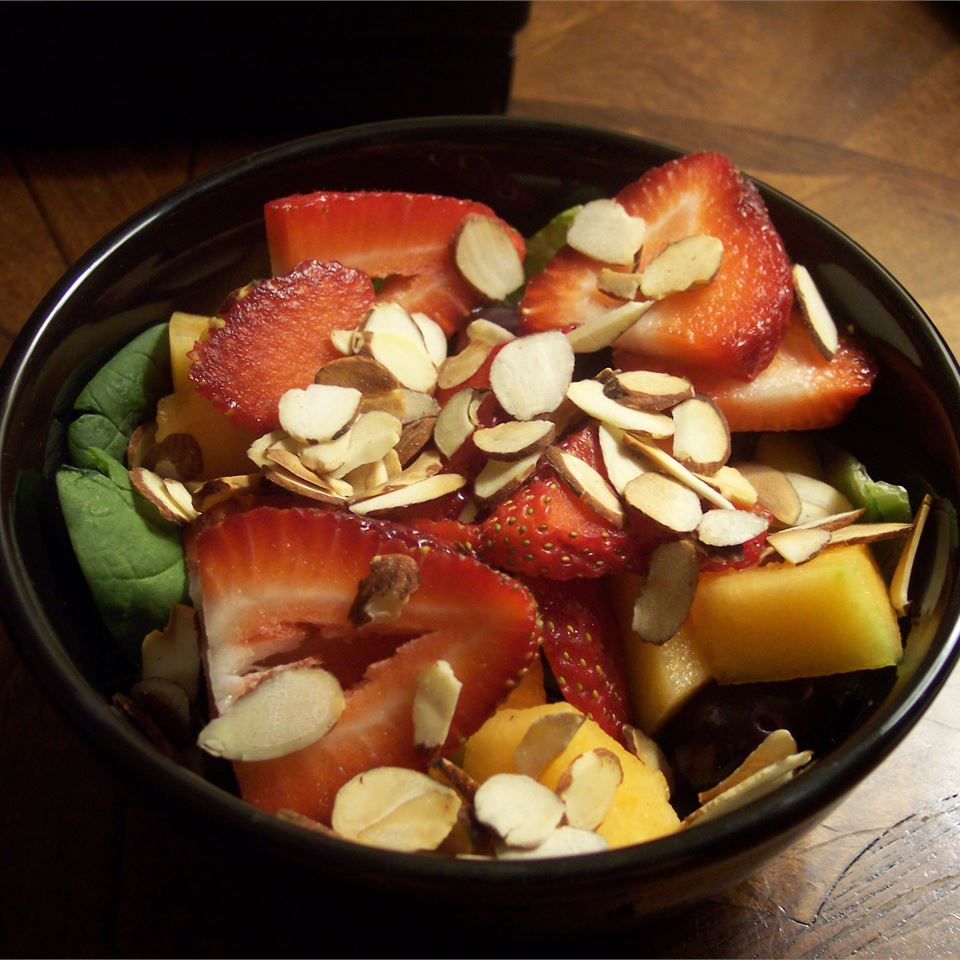 Spring Strawberry Spinach Salad Megs