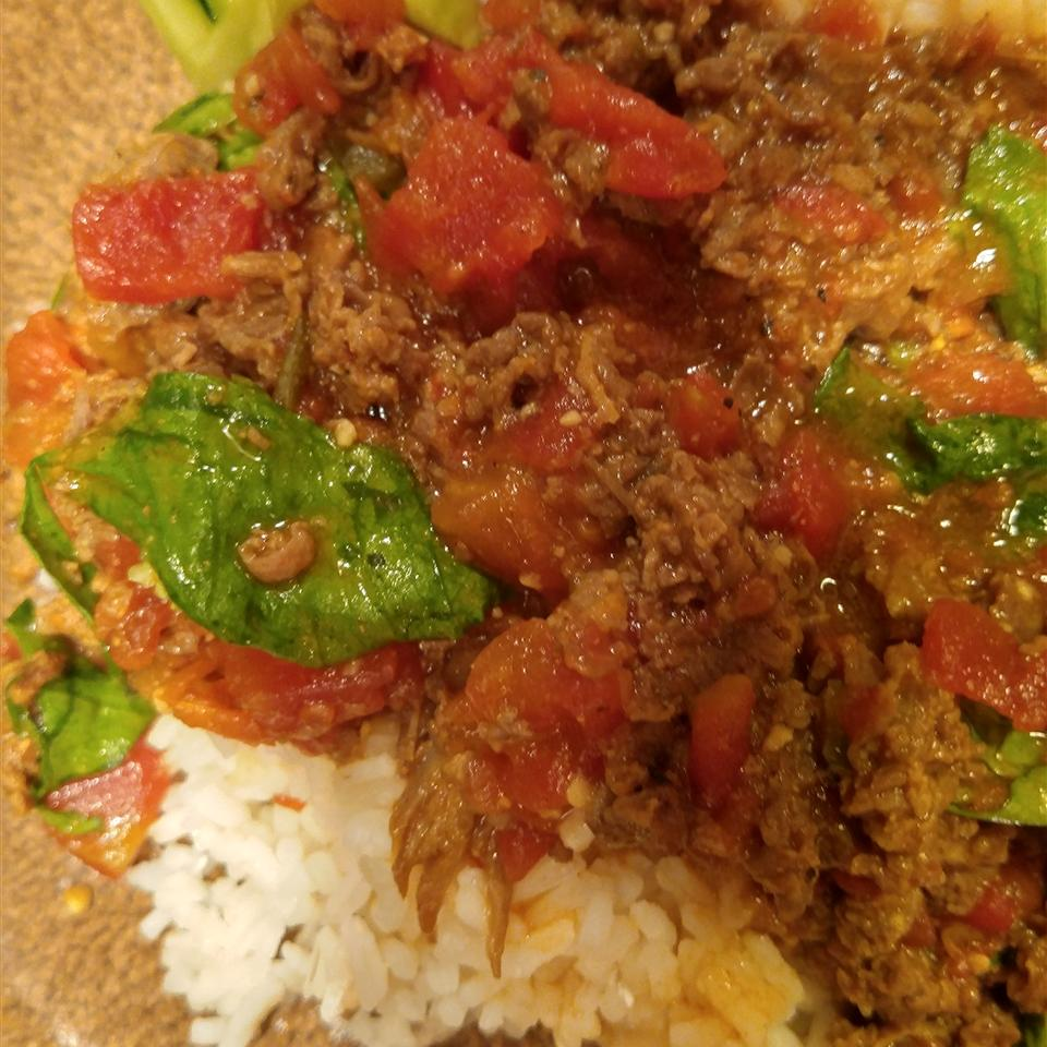Vietnamese Beef And Lettuce Curry Robert C