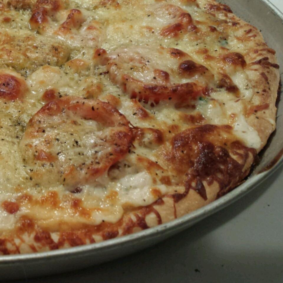 Chicken Garlic Pizza Jennae