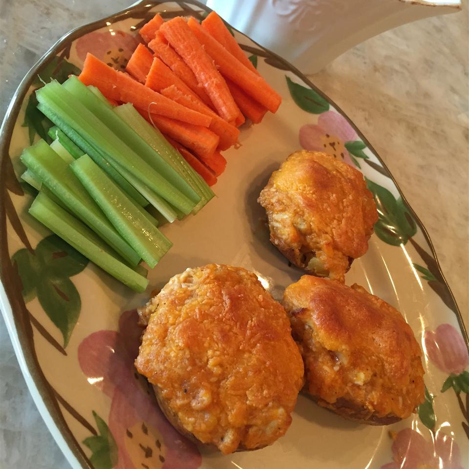 Buffalo Chicken Twice-Baked Potatoes CheriSitton