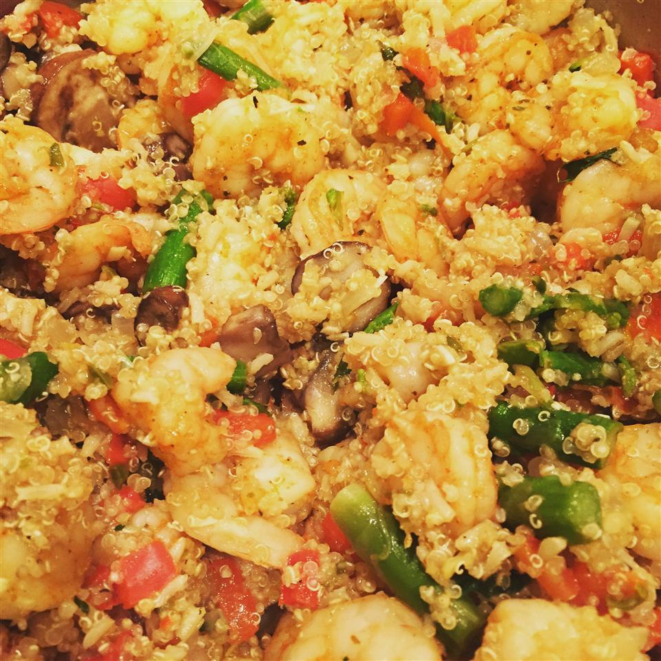 Shrimp Quinoa 'Merica